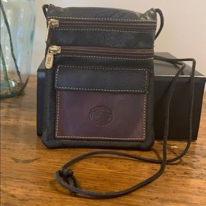 Vintage Roots Cross Body Leather Bag